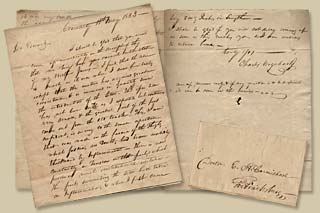 Letter to Dr. Carmichael from Charles Urquhart (May 15, 1823)